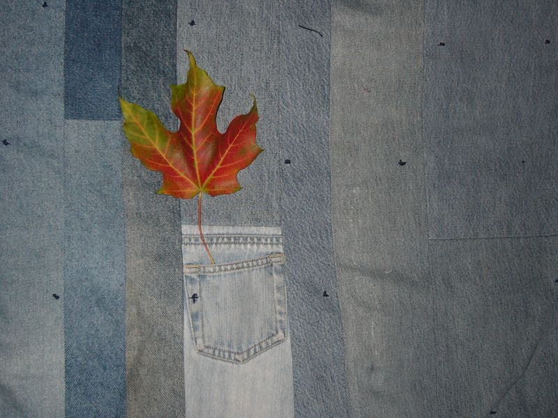 Leaf denim