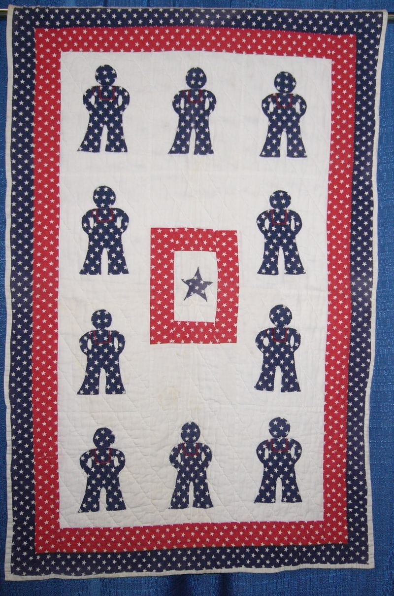 WWII Baby Quilt