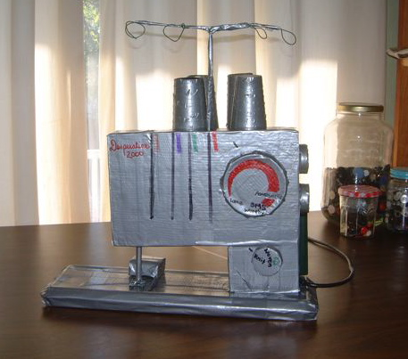 Duct tape serger