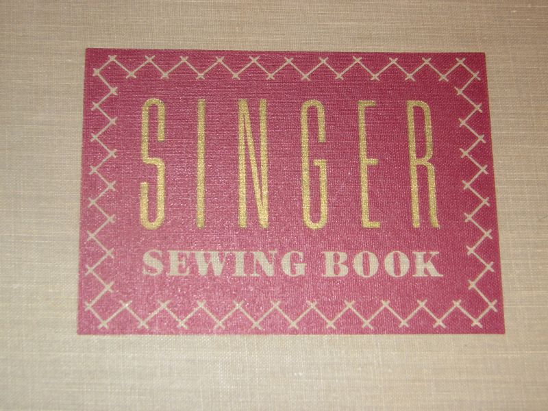 Singer sewing cover