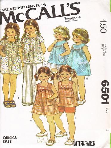 McCall's 6501