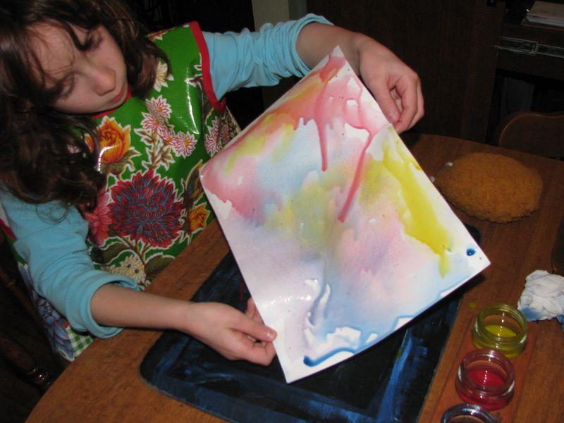 Rolling paint